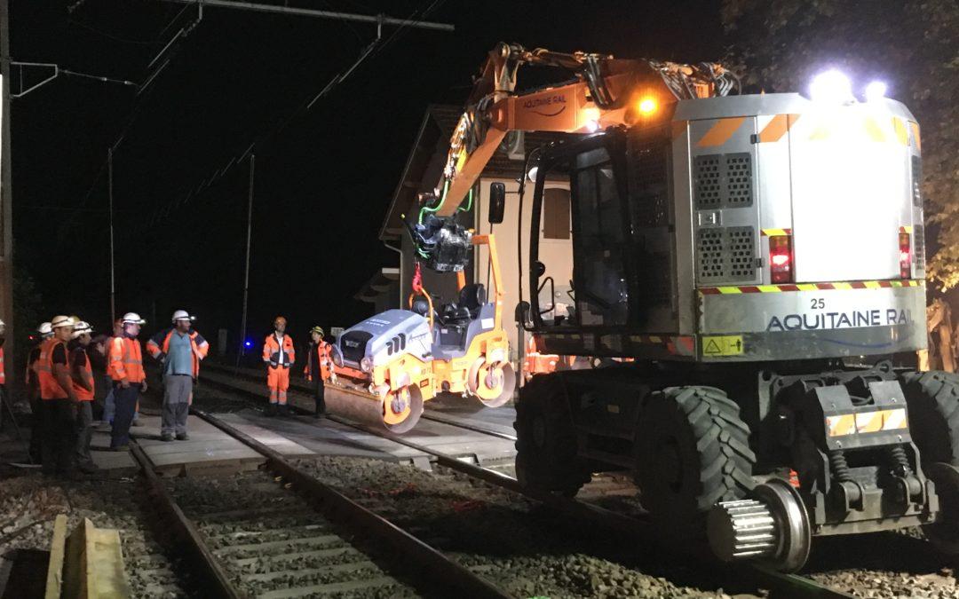 OPÉRATION COUP DE POING – SNCF – Dalot de Dax (64)