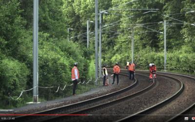 Aquitaine Rail dans le court-métrage Avant la Nuit