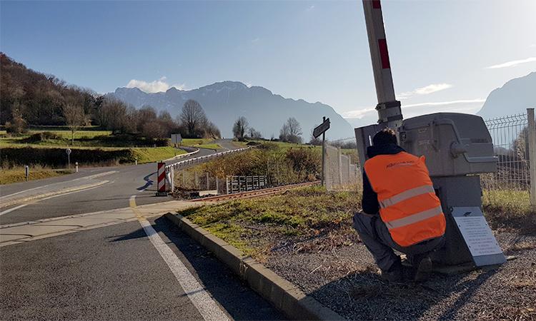 sécurisation des passages à niveaux par aquitaine rail
