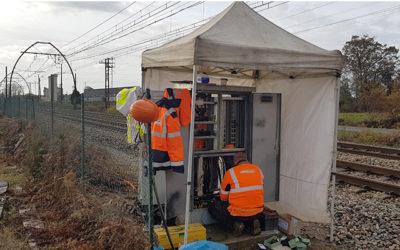 Remise en état des installations de signalisation ferroviaire